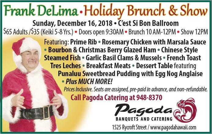 2018 Frank DeLima Holiday Brunch Show